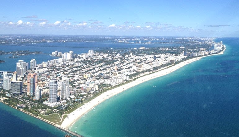 Seaplane Scenic Flight Miami South Beach Tour