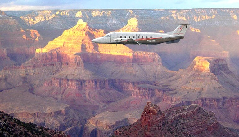 Grand Canyon South Rim Plane Tour Aircraft