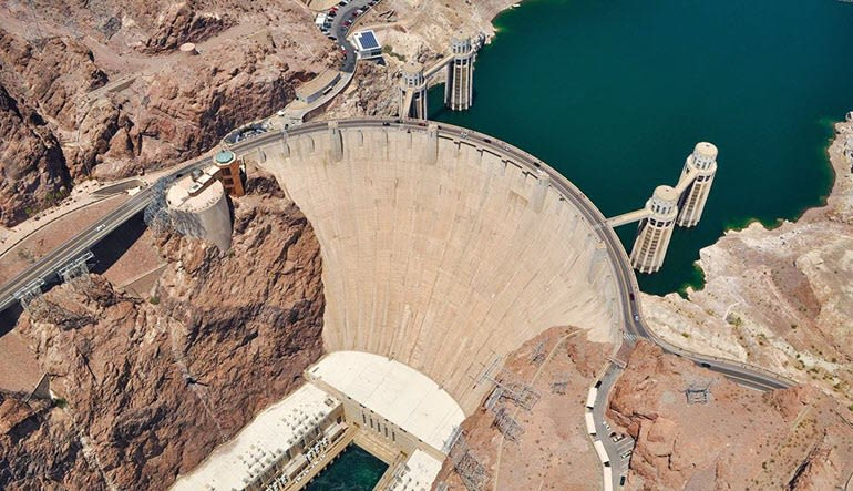 Helicopter Ride Las Vegas  Hoover Dam Aerial