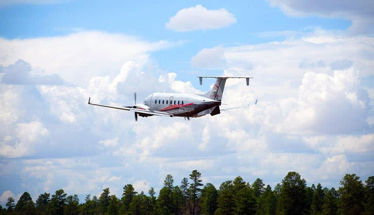Grand Canyon West Rim Plane Tour Aircraft