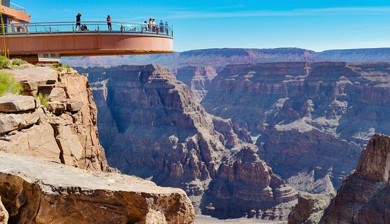 Grand Canyon West Rim Plane Tour Sky Walk