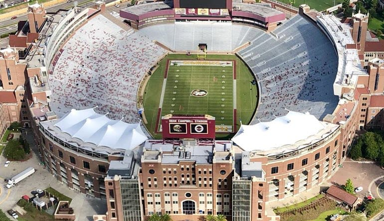 Helicopter Ride Tallahassee Stadium