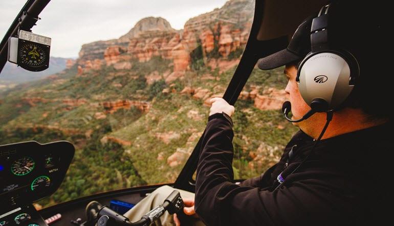 Helicopter Tour Sedona Pilot