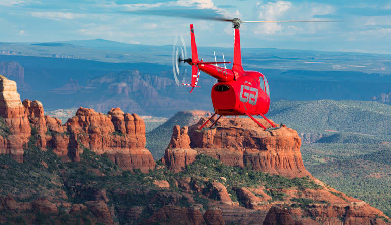 Helicopter Tour Sedona Red Rock Country