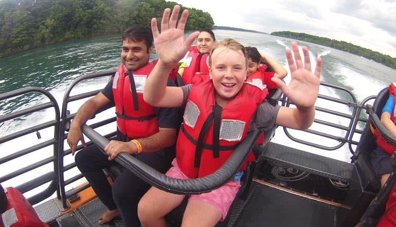 Niagara Jet Boat Ride Children