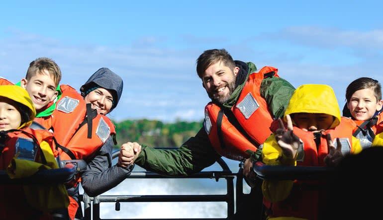 Niagara Jet Boat Ride Group