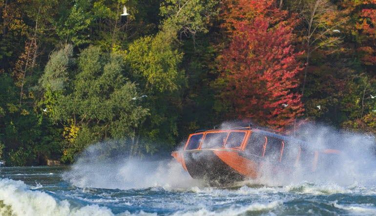 Niagara Jet Boat Ride Get Wet