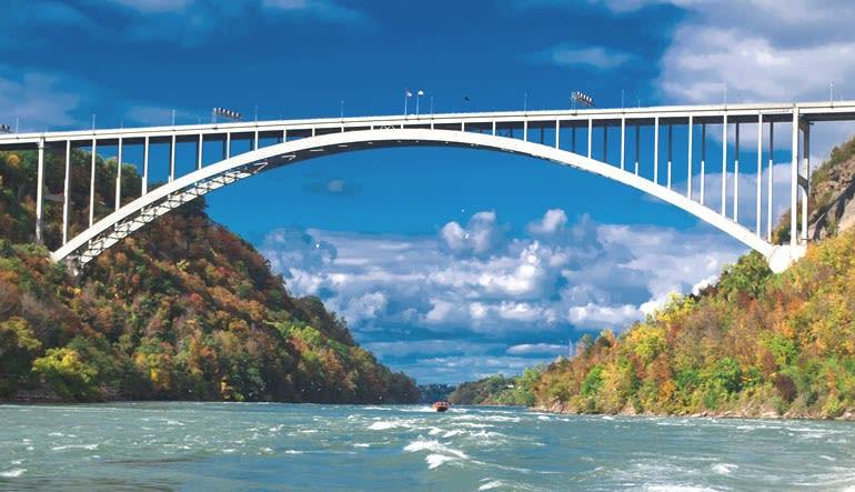 Niagara Jet Boat Ride Bridge