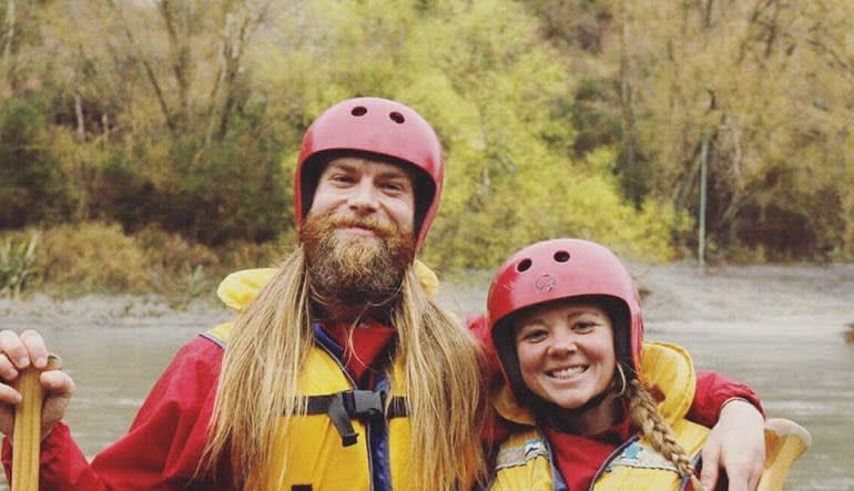 Whitewater Rafting Jackson Hole, Snake River Couple