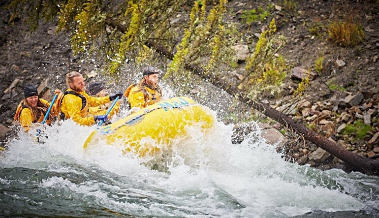Whitewater Rafting Jackson Hole Super Small Group