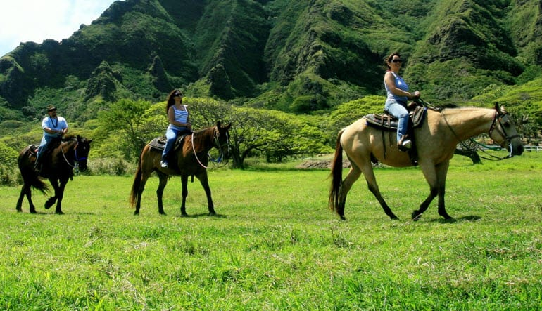 Horseback Riding Oahu Kualoa Ranch