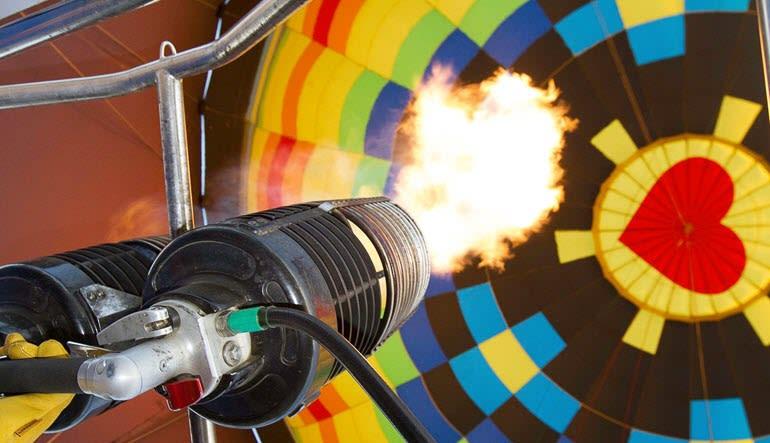 Hot Air Balloon Ride Palm Desert Flame