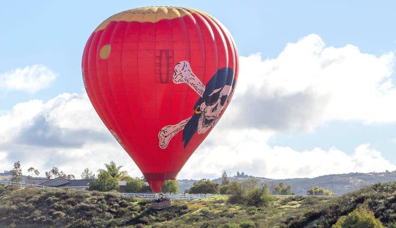 Hot Air Balloon Ride Palm Desert Float
