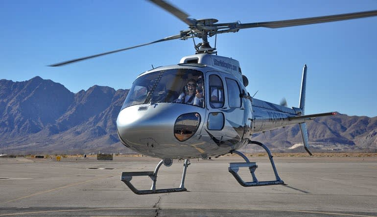 Grand Canyon Helicopter Tour Take Off