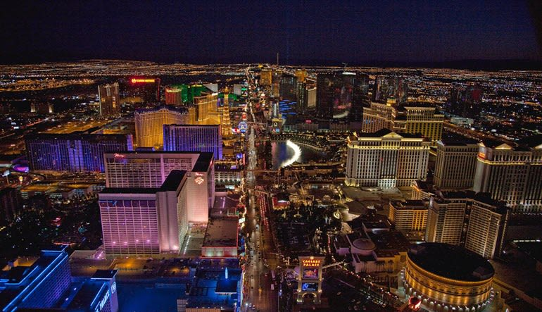 Private Helicopter Ride Las Vegas Lights