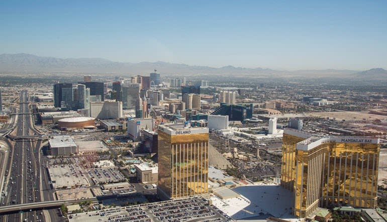 Helicopter Tour Las Vegas City Skyline
