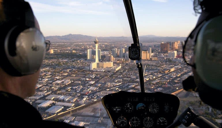 Helicopter Introductory Flight Lesson Las Vegas
