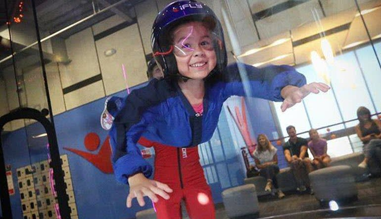 Indoor Sky Diving Kansas City Child