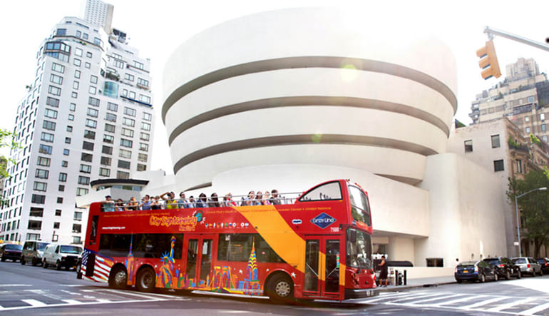 The New York Sightseeing Pass Bus