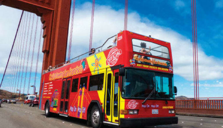 The San Francisco Sightseeing Pass Bus
