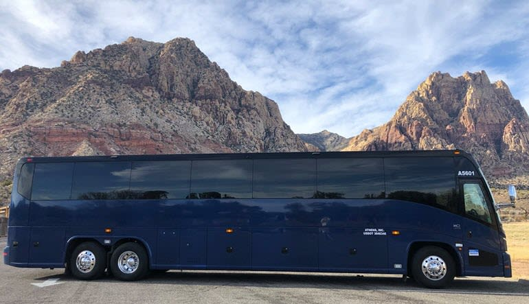 Grand Canyon National Park Luxury Bus Tour Bus