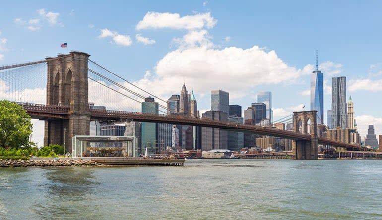 NYC Sightseeing Ferry Cruise Brooklyn Bridge