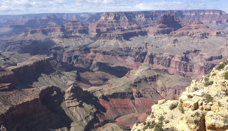 Grand Canyon Day Tour from Sedona Landscape