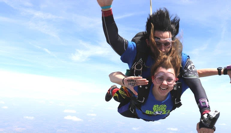 Skydive North Carolina Sorry Mom