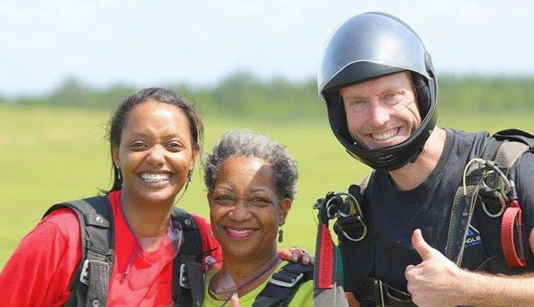 Skydive North Carolina Smiles
