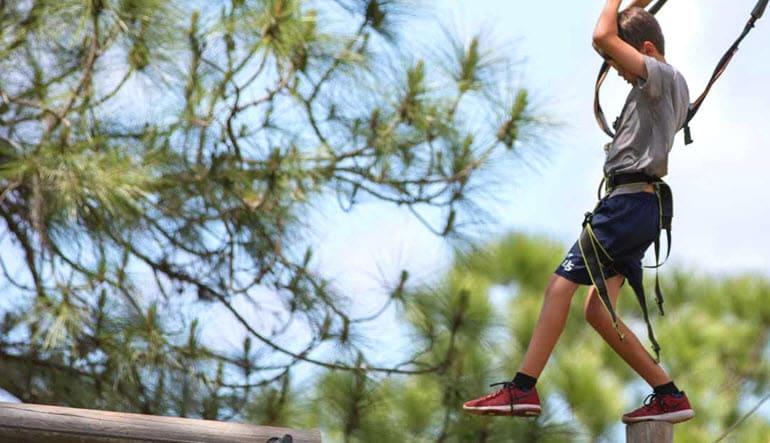 Zipline & Treetop Adventure Course Tampa