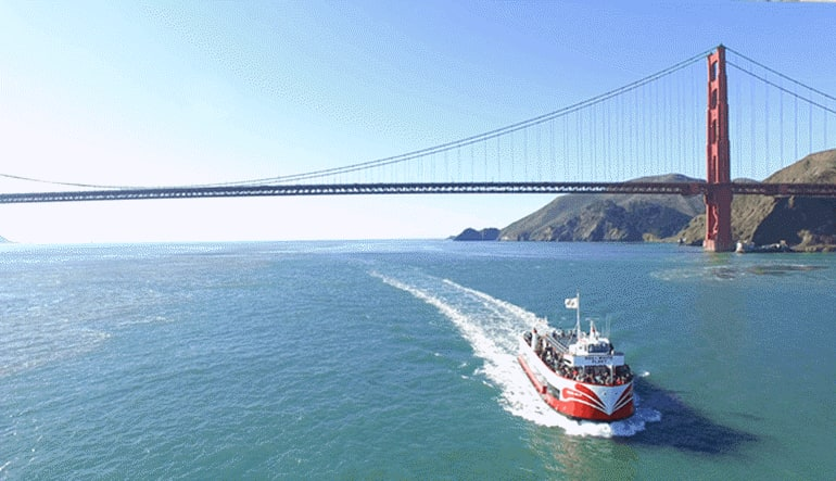 San Francisco Luxury Coach Tour and Bay Cruise