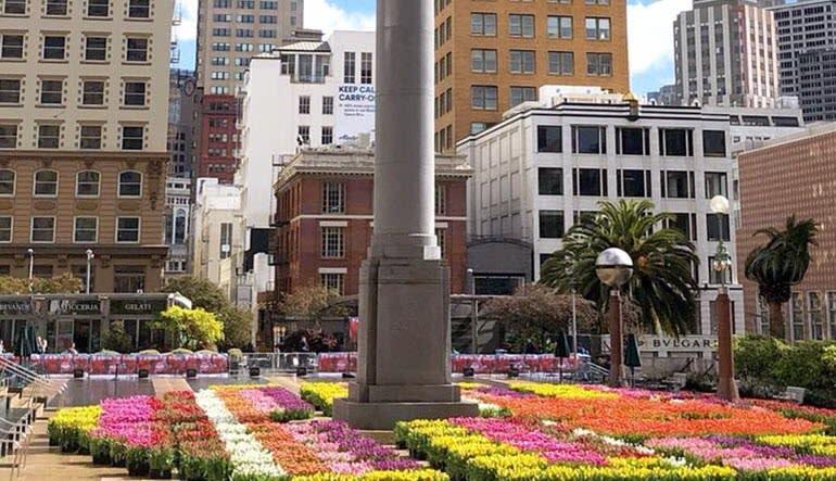 San Francisco Luxury Coach Tour Grand City Tour Union Square