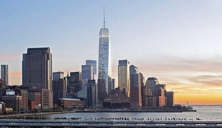 New York City Walking Tour World Trade