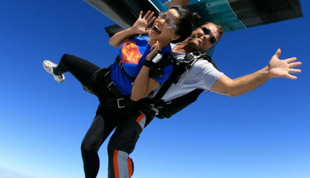 Skydiving Chicagoland Scream