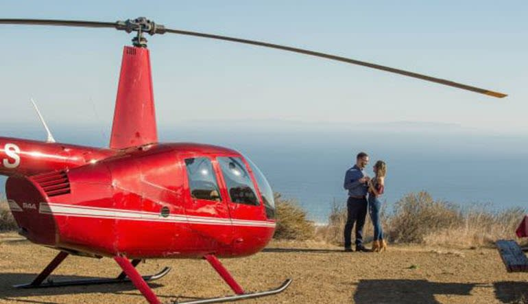 Private Helicopter Ride Los Angeles Romantic