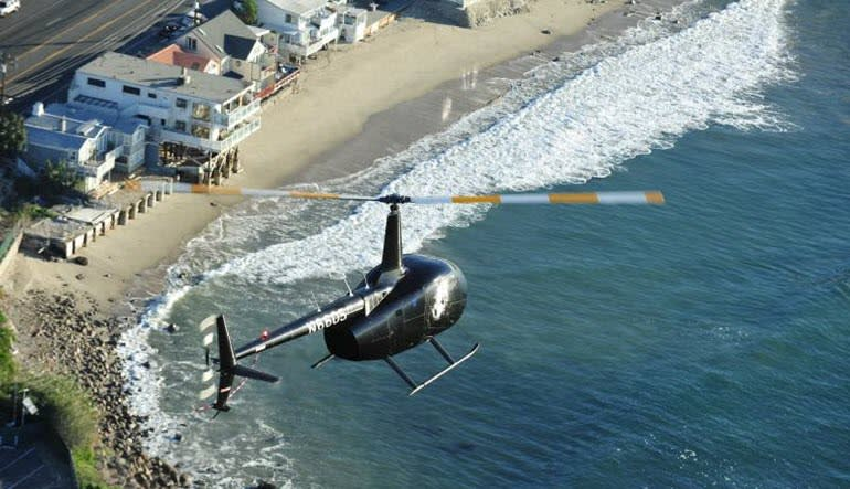 Private Helicopter Ride Los Angeles Sea Views
