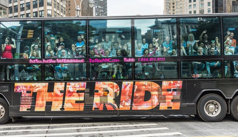 The Downtown Experience New York City Bus