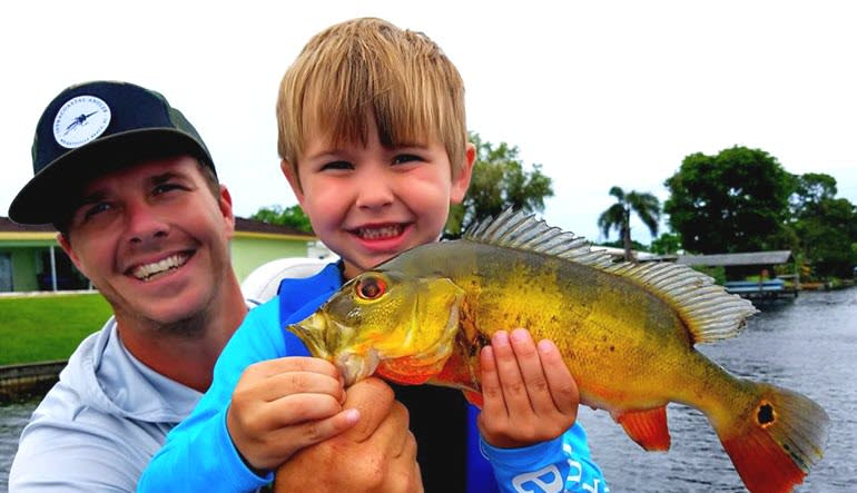 Fishing Tour Everglades Father & Son