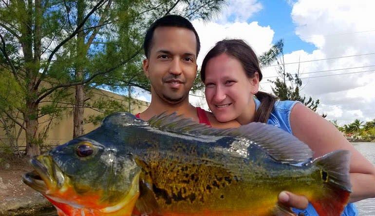 Fishing Tour Miami Couple