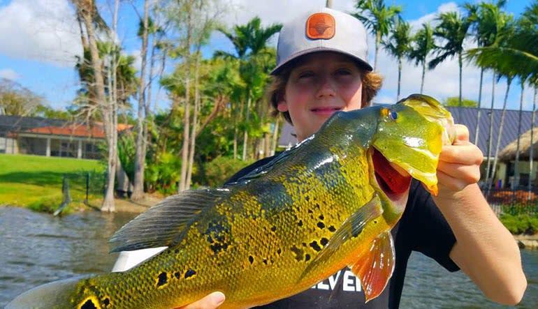 Fishing Tour Miami Kid