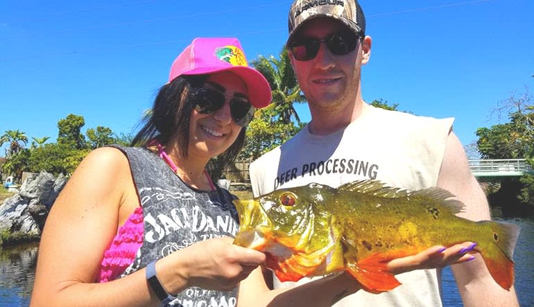Fishing Tour Miami  Airport Lakes Couple