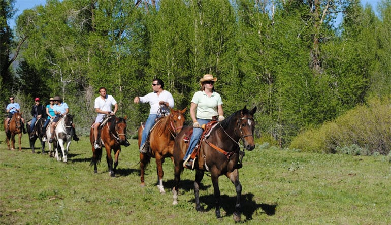 Horseback Riding Park City Group