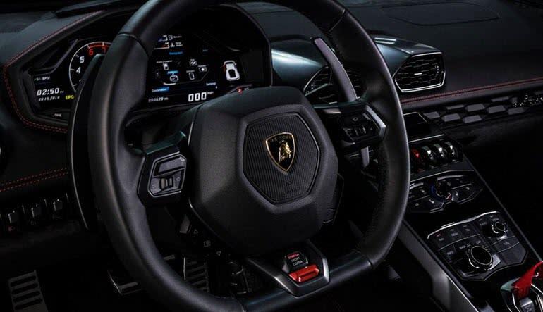 Lamborghini Huracan Drive Interior