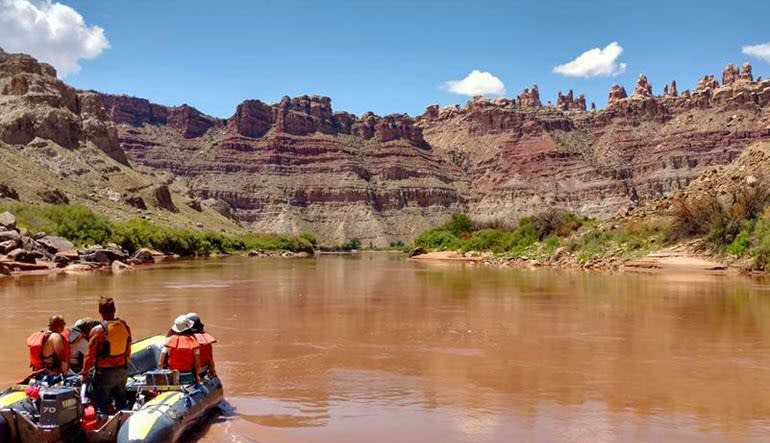 Colorado River Scenic Boat Cruise Moab