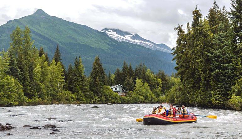 Juneau Rafting Tour Mendenhall Glacier