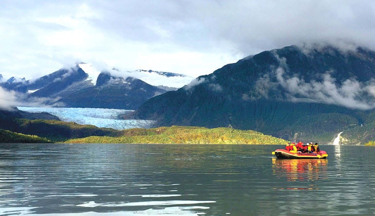 Juneau Rafting Tour Mendenhall Glacier Views