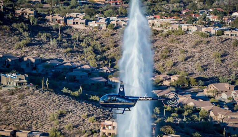 Helicopter Ride Mesa Phoenix Fountain Hills