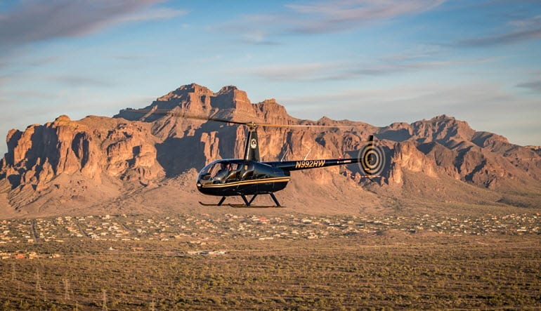 Helicopter Ride Phoenix Red Mountain