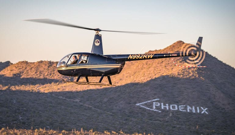 Helicopter Ride Phoenix 20 Minutes