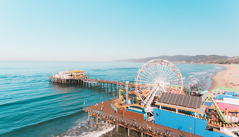 Bike Tour Santa Monica Pier